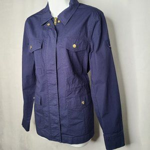 Tommy Hilfiger Military Style Casual Zip Jacket